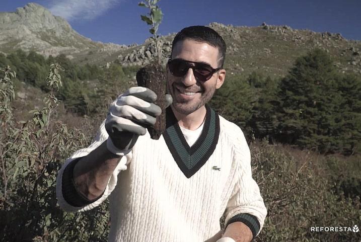 Como plantar un árbol, vídeo con Miguel Ángel Silvestre